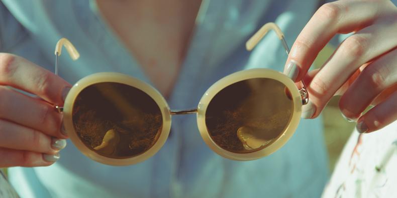 een-zonnebril