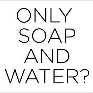 Water en zeep