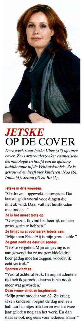 Jetske cover Telegraaf