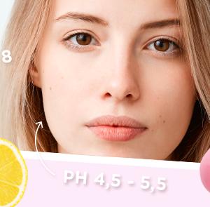 Huidverzorgingsproducten PH-neutraal