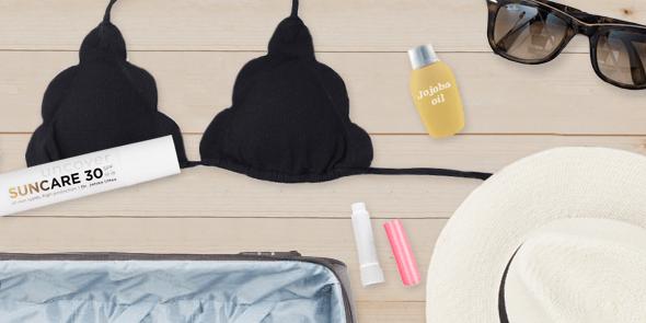 Huidverzorging op reis